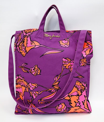 Jacobs By Marc Jacobs Purple Print Tote