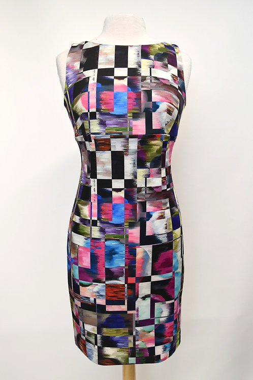 Milly Multi-Colored Print Dress Size XS (2)