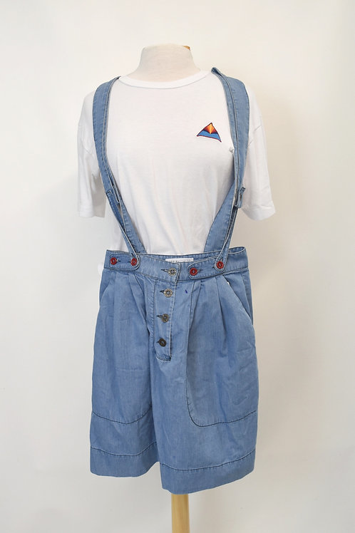 See By Chloe Chambray Overall Skirt Size XS (2)