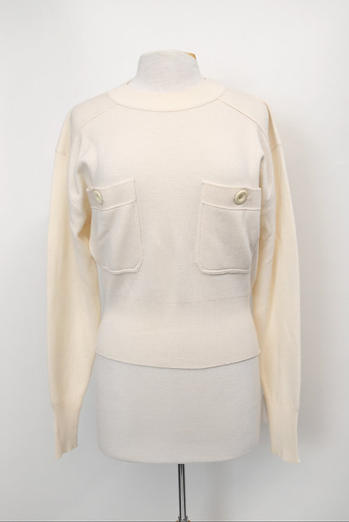 See By Chloe Ivory Wool Sweater Size XS (2)