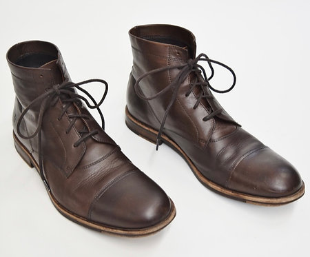 Frye Brown Leather Boots Size 10