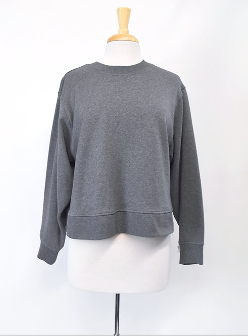 Alexander Wang Gray Sweatshirt Size Medium