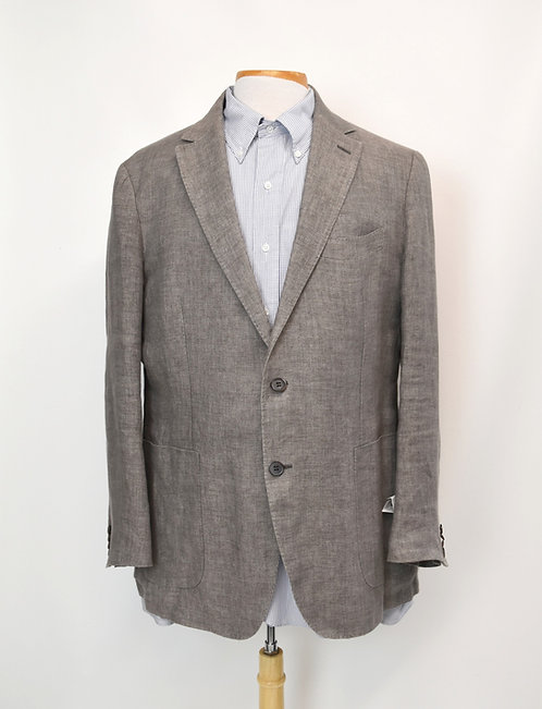 SuitSupply Tan Linen Blazer Size 46R