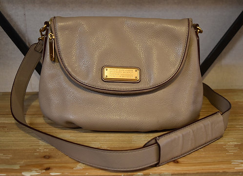 Marc by Marc Jacobs Gray Leather Q Natasha Crossbody