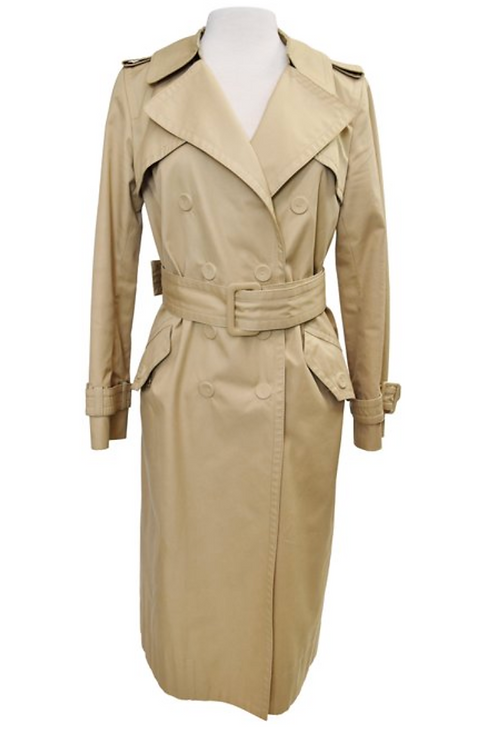 Marc jacobs Tan Trench Coat Size Large