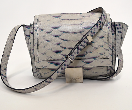 Maison Martin Margiela White Print Leather Crossbody