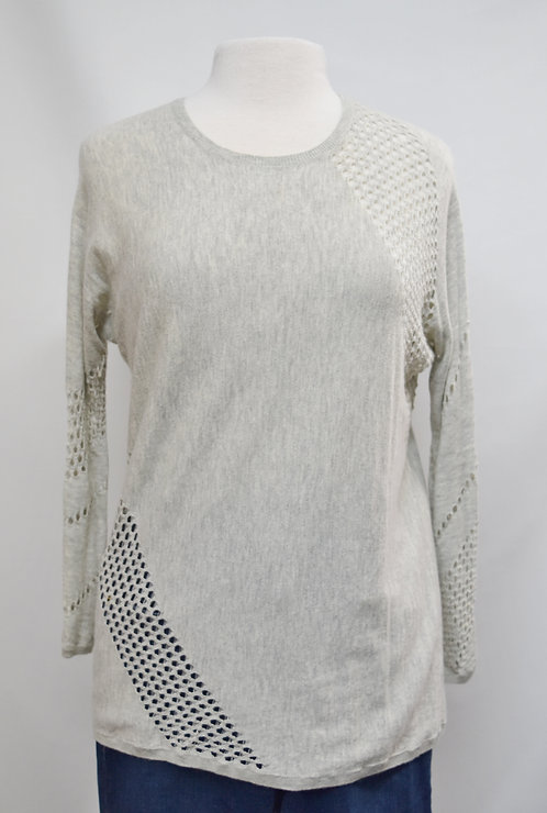 Maje Gray Sweater Size Medium