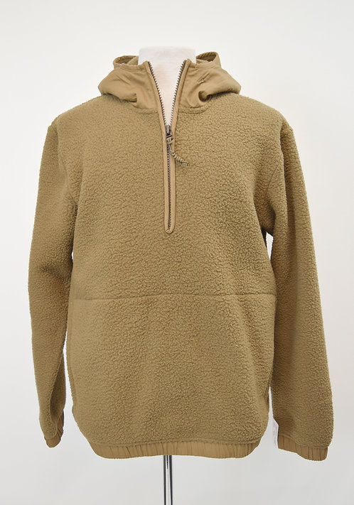 REI Tan Sherpa Pullover Size Large
