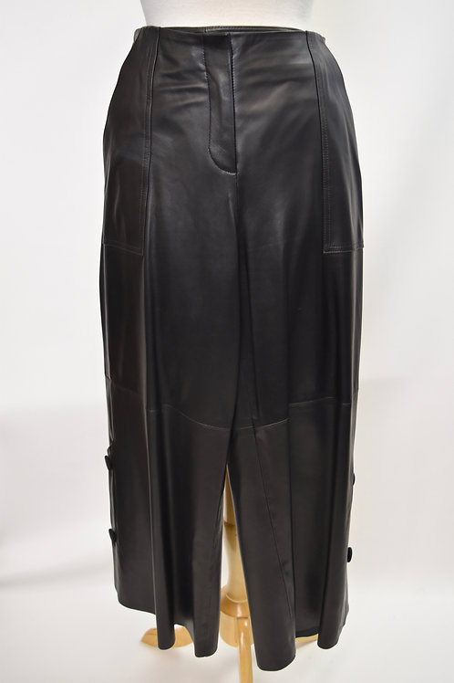 Hellessy Black Leather Pants Size Small (6)