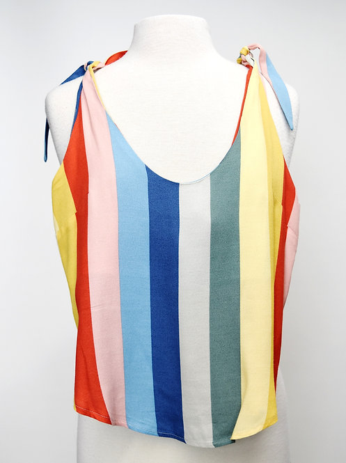Reformation Colorful Stripe Tank Top Size XS