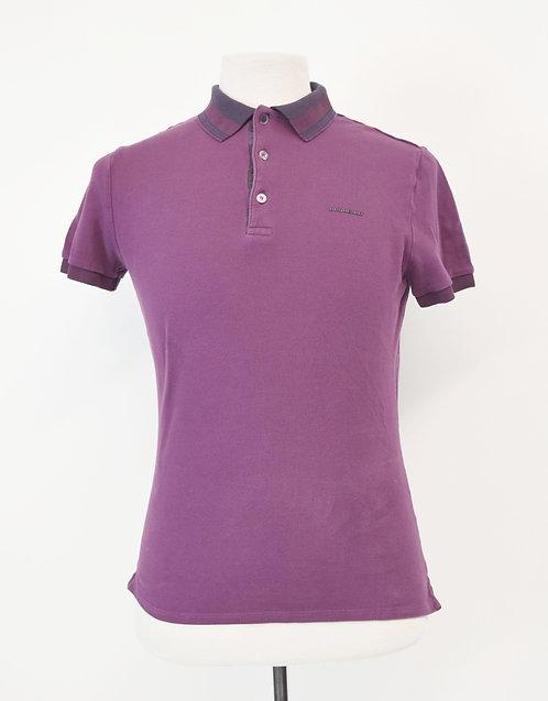 Burberry Purple Slim Fit Polo Size Small/Medium