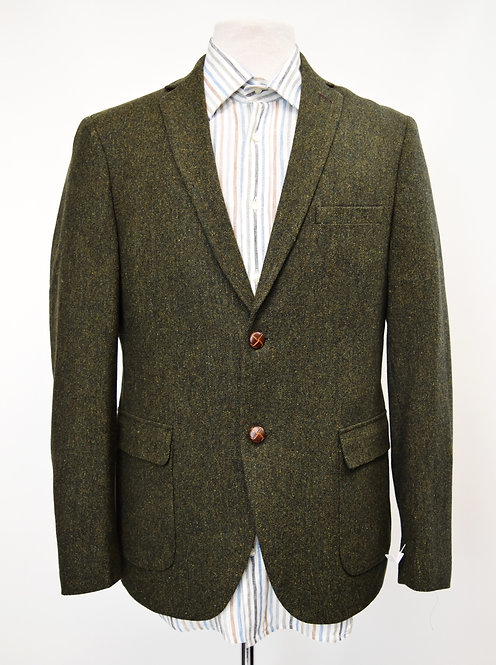 Frank & Oak Green Tweed Blazer Size 40R