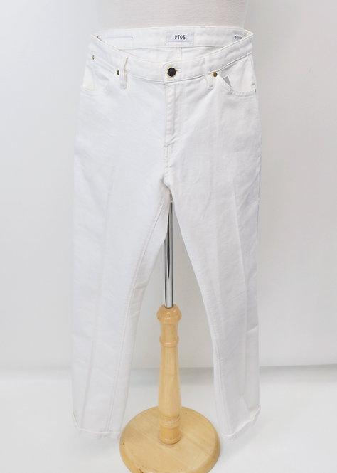 PT05 White Slim Pants Size 34