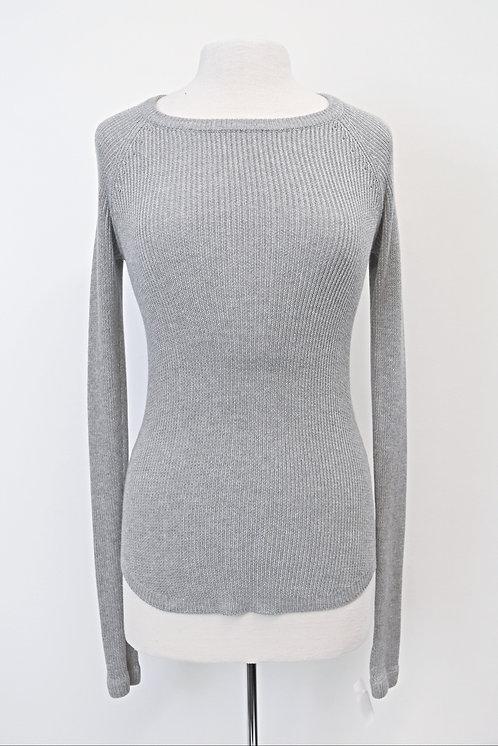 Lululemon Gray Knit Sweater Size Small