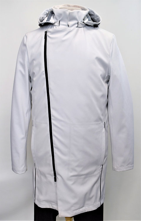 North & Mark White & Gray 2-N-1 Coat Size Small