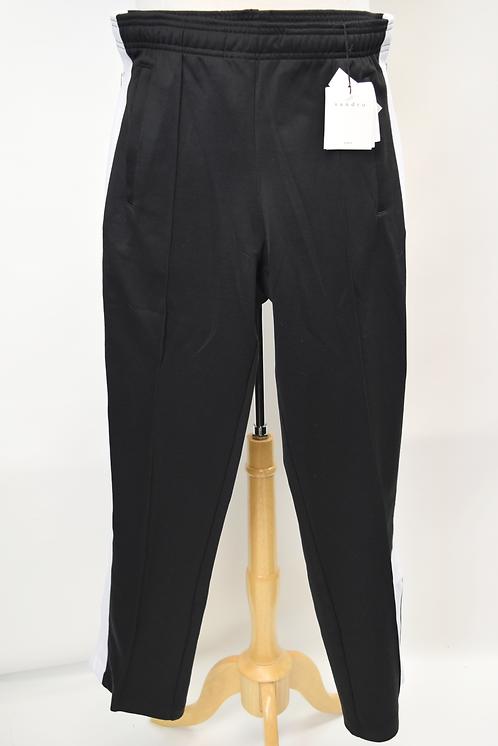 Sandro Black & White Sweatpants Size Large