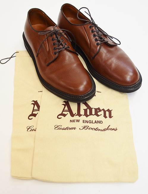 Alden Brown Leather Shoes Size 9