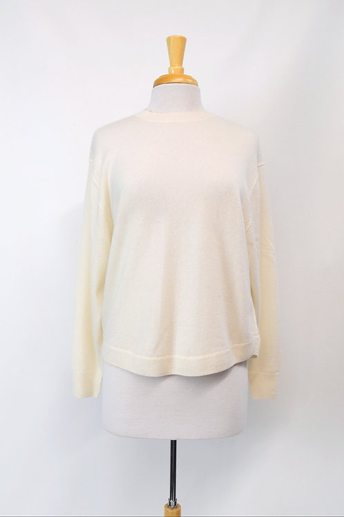 Vince Ivory Cashmere Sweater Size XS