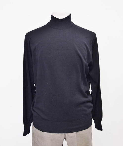 Brunello Cucinelli Black Turtleneck Sweater Size Large