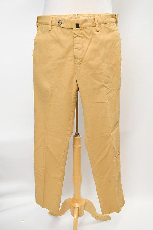 PT01 Tan Slim Fit Stretch Pants Size 32
