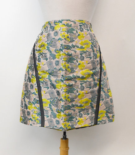 Opening Ceremony Floral Jacquard Skirt Size Small (4)