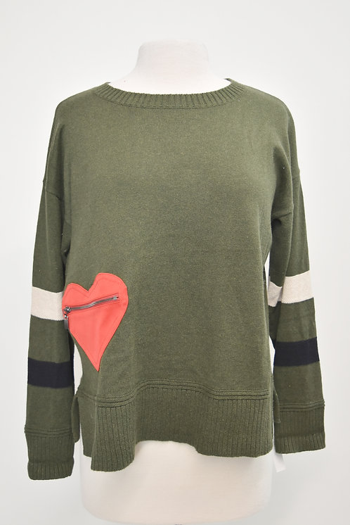 Lisa Todd Green Sweater Size Large
