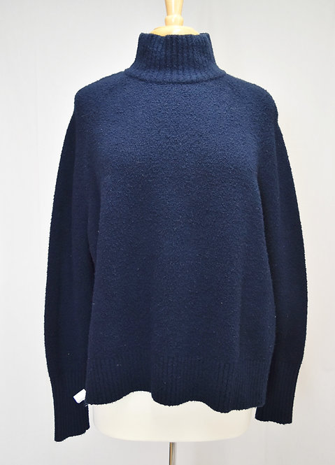 Theory Navy Turtleneck Sweater Size Small