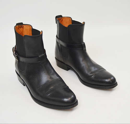Frye Black Leather Boots Size 8