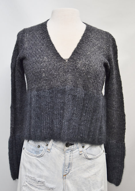 Robin Richman Gray Sweater Size Small