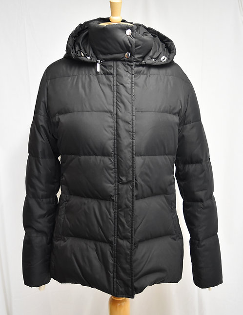 "Burberry ""Stella"" Black Puffer Coat Size Large"