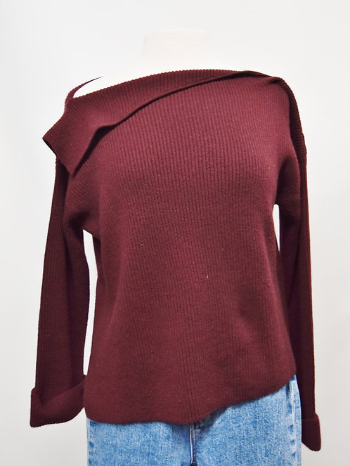 Vince Maroon Sweater Size Small