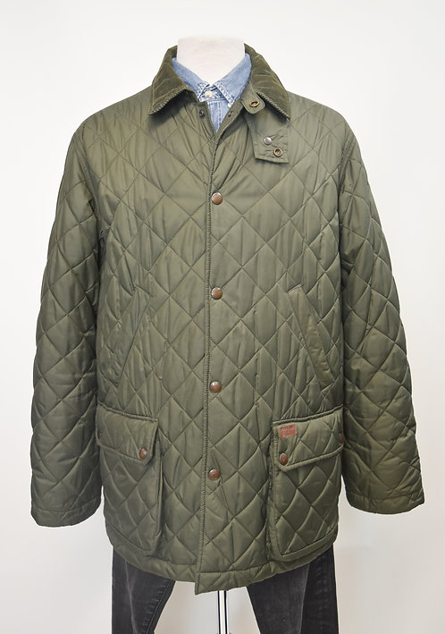 Ralph Lauren Green Quilted Jacket Size Large