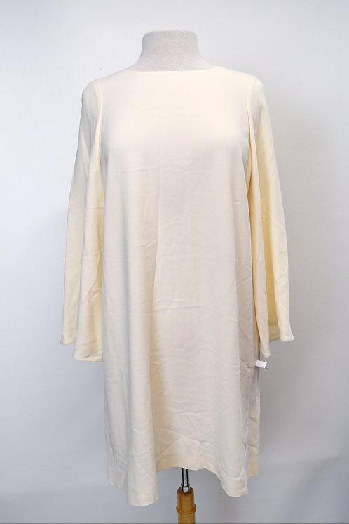 Helmut Lang Ivory Crepe Dress Size Medium