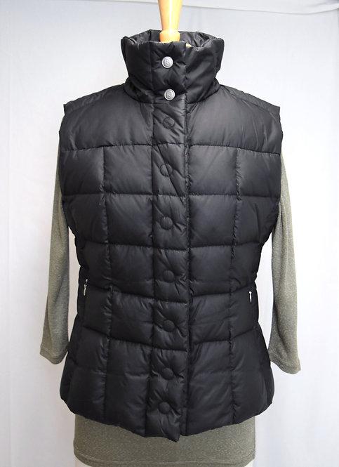 Bogner Black Quilted Puffer Vest Size 8