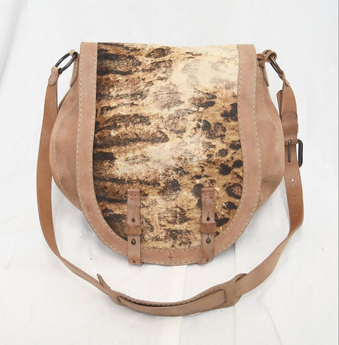 Henry Beguelin Tan Leather Purse