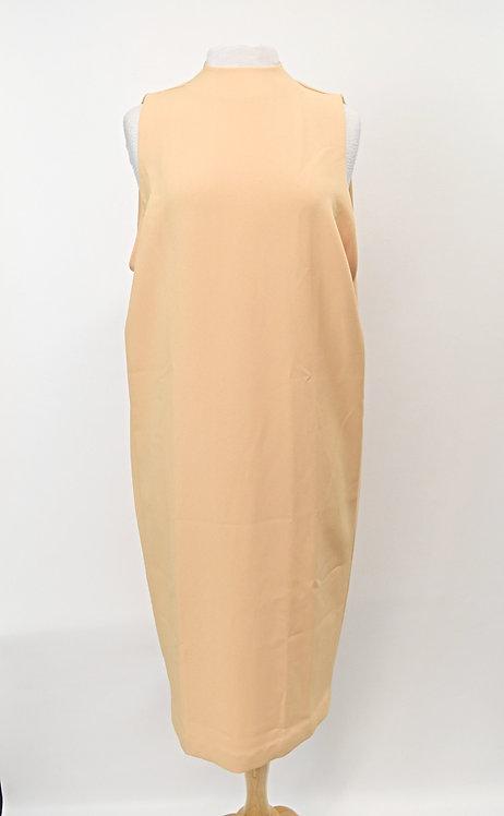 "Kaarem Yellow ""Dill"" Drape Dress Size Small"