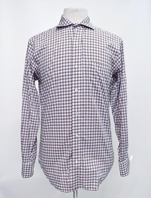 Brooks Brothers Black Fleece Red & Navy Shirt Size Medium