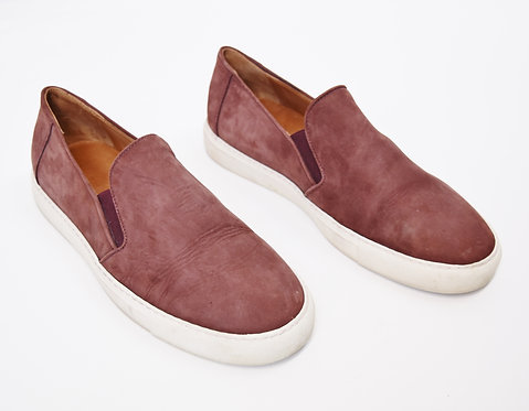 M. Gemi Burgundy Leather Shoes Size 11