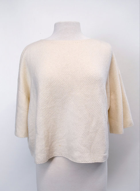 Helmut Lang Ivory Cashmere Sweater Size Medium