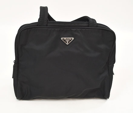Prada Black Nylon Laptop Bag/Shoulder Bag