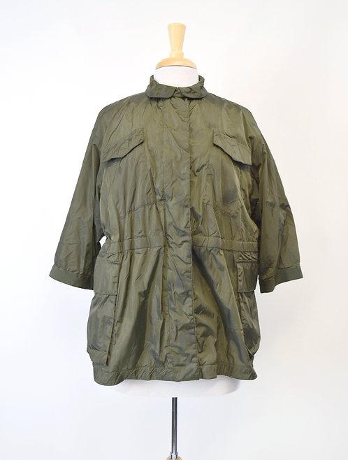 Moncler Green Rain Jacket Size Large (3)