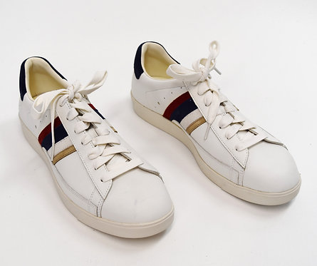 Paul Smith White Leather Sneakers Size 10