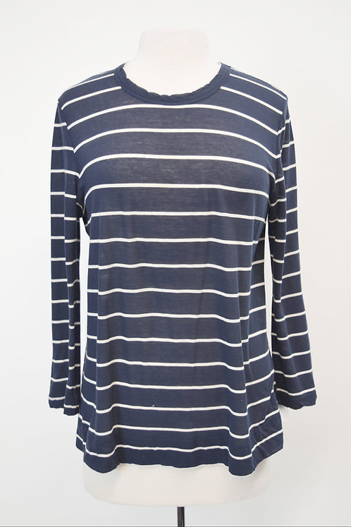 A.L.C. Navy Stripe Top Size Medium