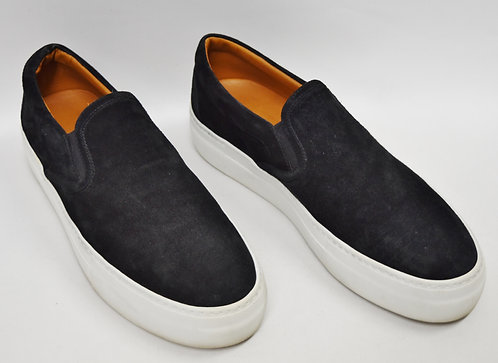 Barney's New York Black Suede Slip-On's Size 9