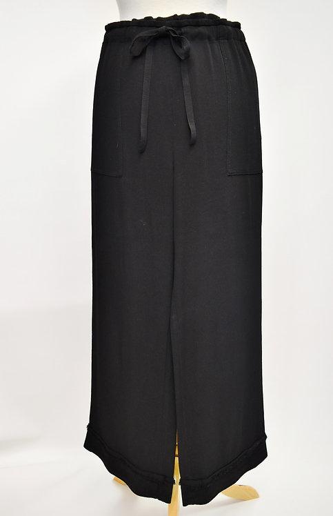 Raquel Allegra Black Wide Leg Pants Size Medium