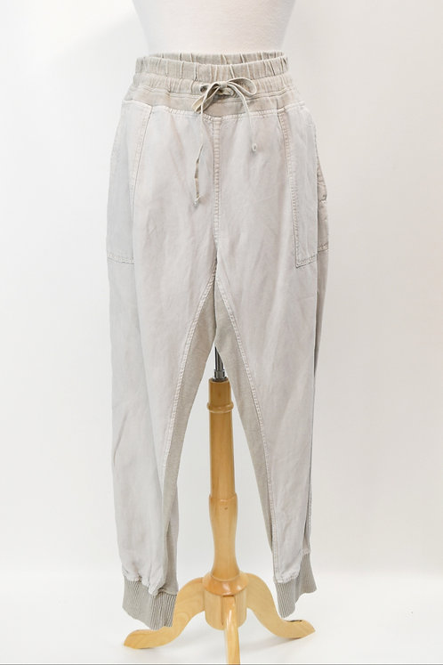 """James Perse Beige """"Mixed Media Pant"""" Size Large"""