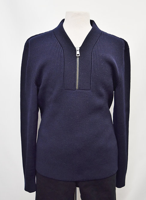 Gucci Navy Wool Knit Sweater Size XXXL