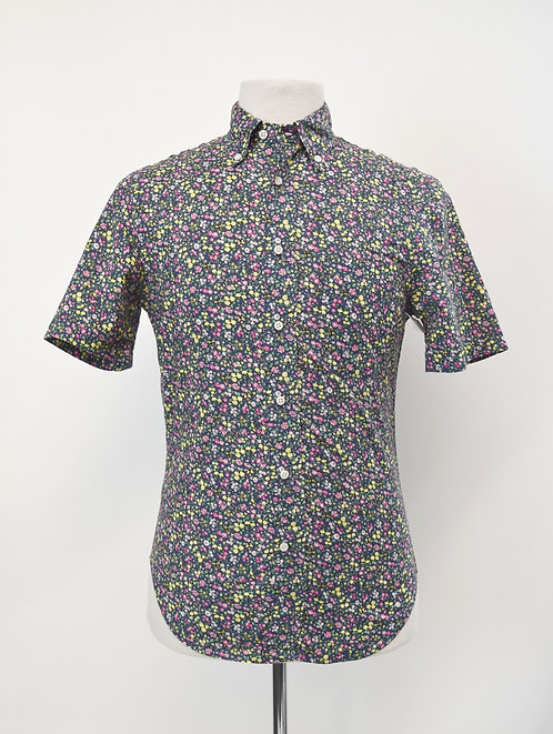Gitman Bros Floral Short Sleeve Shirt Size Small