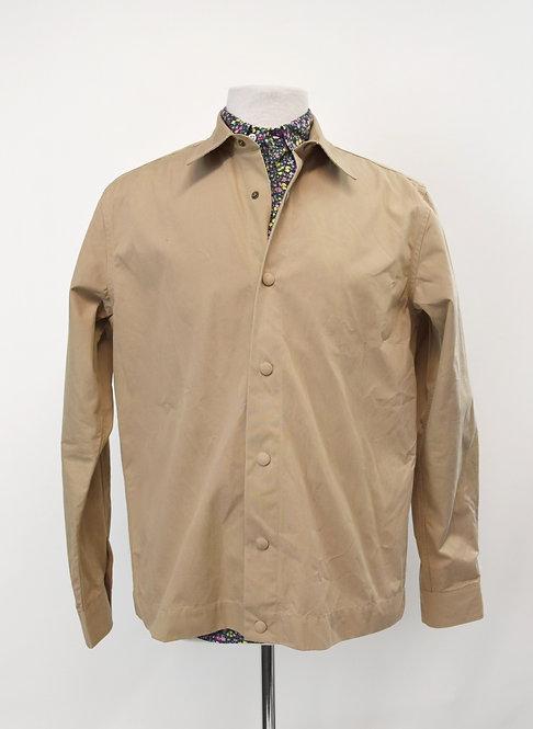 Officine Generale Tan Lightweight Jacket Size Medium