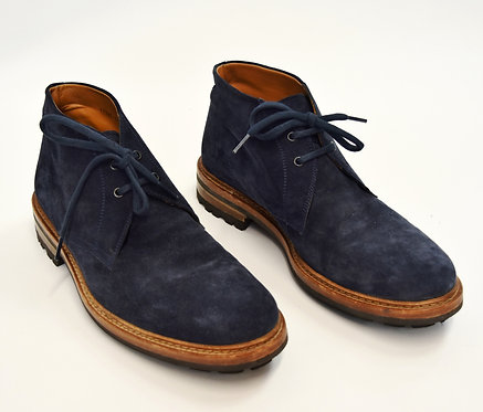 Magnanni Navy Suede Boots Size 11